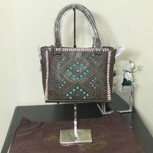 Montana West Tribal Collection Mini Tote/Crossbody